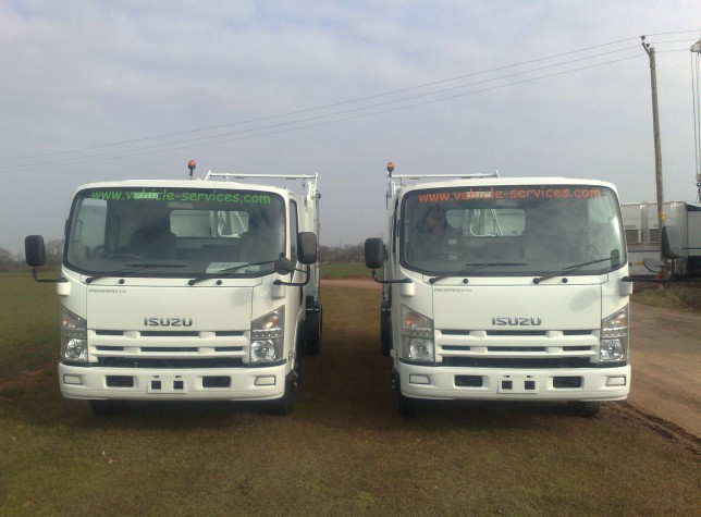 Brand New Isuzu Waste Compactors For St Vincent Waste Authority
